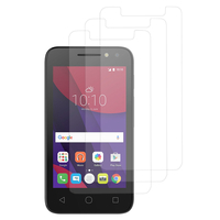 "Alcatel Pixi 4 (4) 4.0"": Lot / Pack de 3x Films de protection d'écran clear transparent"