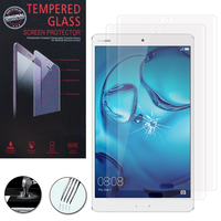 "Huawei Tablette Tactile MediaPad M3 8.4"": Lot / Pack de 2 Films de protection d'écran Verre Trempé"