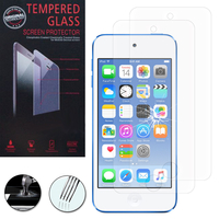 Apple Ipod Touch 5/ 5G: Lot / Pack de 2 Films de protection d'écran Verre Trempé