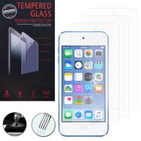 Apple iPod Touch 6/ 6th generation: Lot / Pack de 3 Films de protection d'écran Verre Trempé