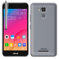 """Asus Zenfone Pegasus 3 5.2"""" (non compatible Zenfone Pegasus 3S): Accessoire Housse Etui Coque gel UltraSlim et Ajustement parfait + Stylet - TRANSPARENT"""