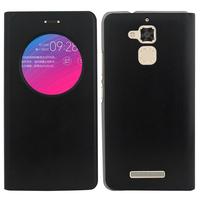 """Asus Zenfone Pegasus 3 5.2"""" (non compatible Zenfone Pegasus 3S): Accessoire Coque Etui Housse Pochette Plastique View Case - NOIR"""
