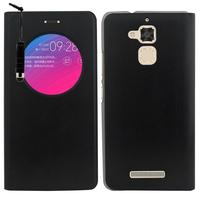 """Asus Zenfone Pegasus 3 5.2"""" (non compatible Zenfone Pegasus 3S): Accessoire Coque Etui Housse Pochette Plastique View Case + mini Stylet - NOIR"""