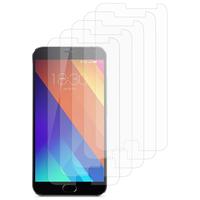 """Meizu MX5E/ Meizu MX5e Lite 5.5"""": Lot / Pack de 5x Films de protection d'écran clear transparent"""