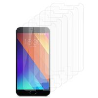 """Meizu MX5E/ Meizu MX5e Lite 5.5"""": Lot / Pack de 6x Films de protection d'écran clear transparent"""