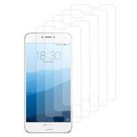 """Meizu Pro 6S 5.2"""": Lot / Pack de 5x Films de protection d'écran clear transparent"""