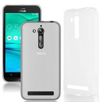 """Asus Zenfone Go ZB500KL 5.0"""": Accessoire Housse Etui Pochette Coque silicone gel - TRANSPARENT"""
