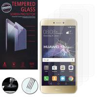 """Huawei P8 Lite (2017) 5.2""""/ P9 Lite (2017)/ Honor 8 Lite/ Nova Lite/ GR3 (2017) (non compatible Version 2015/ 2016): Lot / Pack de 3 Films de protection d'écran Verre Trempé"""