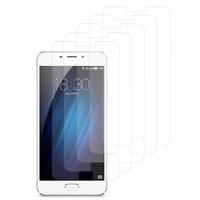 """Meizu M3E 5.5"""": Lot / Pack de 5x Films de protection d'écran clear transparent"""
