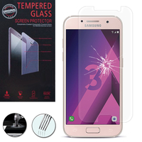 "Samsung Galaxy A3 (2017) 4.7"" A320F/FL A320Y/ A3 (2017) Duos (non compatible Version 2014/ 2015/ 2016): 1 Film de protection d'écran Verre Trempé"