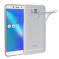 """Asus Zenfone 3 Max ZC553KL 5.5"""": Accessoire Housse Etui Coque gel UltraSlim et Ajustement parfait - TRANSPARENT"""