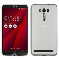 """Asus Zenfone 2 Laser ZE600KL/ ZE601KL 6.0"""": Accessoire Housse Etui Pochette Coque silicone gel - TRANSPARENT"""