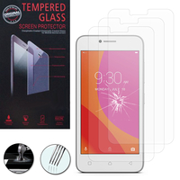 "Lenovo B 4.5""/ Lenovo Vibe B: Lot / Pack de 3 Films de protection d'écran Verre Trempé"