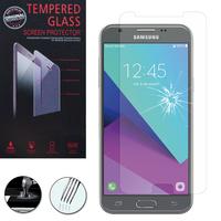 """Samsung Galaxy J3 (2017)/ J3 Emerge 5.0"""" SM-J327 (non compatible Galaxy J3 2016/ 2015): 1 Film de protection d'écran Verre Trempé"""