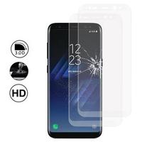 """Samsung Galaxy S8 5.8"""" (non compatible Galaxy S8 Plus 6.2""""): Lot/ Pack de 2 Films en Verre Trempé Bord Incurvé Resistant"""