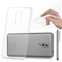 """Huawei Honor 6X 5.5""""/ 6X Pro/ GR5 2017/ Mate 9 Lite: Accessoire Housse Etui Coque gel UltraSlim et Ajustement parfait + Stylet - TRANSPARENT"""