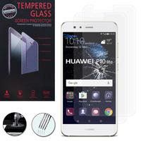 """Huawei P10 Lite 5.2"""" (non compatible Huawei P10/ P10 Plus): Lot / Pack de 2 Films de protection d'écran Verre Trempé"""