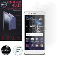 """Huawei P10 Lite 5.2"""" (non compatible Huawei P10/ P10 Plus): Lot / Pack de 3 Films de protection d'écran Verre Trempé"""