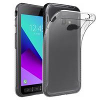 Samsung Galaxy Xcover 4: Accessoire Housse Etui Coque gel UltraSlim et Ajustement parfait - TRANSPARENT