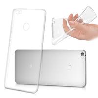 "Xiaomi Mi Max 6.44"": Accessoire Housse Etui Coque gel UltraSlim et Ajustement parfait - TRANSPARENT"