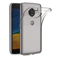"""Lenovo Motorola Moto G5 5.0"""" (non compatible Moto G5 Plus 5.2""""): Accessoire Housse Etui Coque gel UltraSlim et Ajustement parfait - TRANSPARENT"""
