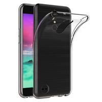 """LG K10 (2017) 5.3""""/ LG X400/ LG M250N: Accessoire Housse Etui Coque gel UltraSlim et Ajustement parfait - TRANSPARENT"""