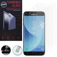 Samsung Galaxy J5 (2017) SM-J750F/DS/ J5 (2017) Duos J530F/DS: Lot / Pack de 3 Films de protection d'écran Verre Trempé