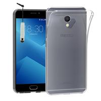 """Meizu M5 Note 5.5"""": Accessoire Housse Etui Coque gel UltraSlim et Ajustement parfait + mini Stylet - TRANSPARENT"""