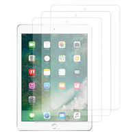 Apple iPad 9.7 2017: Lot / Pack de 3x Films de protection d'écran clear transparent