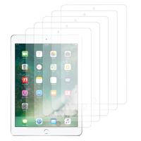 Apple iPad 9.7 2017: Lot / Pack de 5x Films de protection d'écran clear transparent
