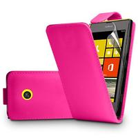 Nokia Lumia 520/ 525/ 521 RM-917: Accessoire Etui Housse Coque Pochette simili cuir à rabat vertical - ROSE