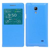 Samsung SM-G3518 Galaxy Core TD-LTE (non compatible SM-386F): Accessoire Coque Etui Housse Pochette Plastique View Case - BLEU