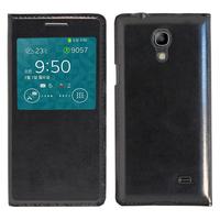 Samsung SM-G3518 Galaxy Core TD-LTE (non compatible SM-386F): Accessoire Coque Etui Housse Pochette Plastique View Case - NOIR