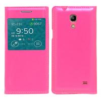Samsung SM-G3518 Galaxy Core TD-LTE (non compatible SM-386F): Accessoire Coque Etui Housse Pochette Plastique View Case - ROSE
