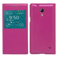 Samsung SM-G3518 Galaxy Core TD-LTE (non compatible SM-386F): Accessoire Coque Etui Housse Pochette Plastique View Case - VIOLET