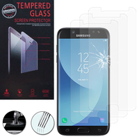 Samsung Galaxy J5 Pro (2017) J530Y/DS: Lot / Pack de 3 Films de protection d'écran Verre Trempé