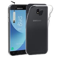Samsung Galaxy J5 Pro (2017) J530Y/DS: Accessoire Housse Etui Coque gel UltraSlim et Ajustement parfait + mini Stylet - TRANSPARENT