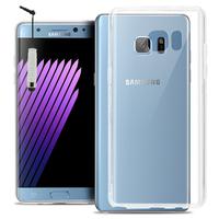 Samsung Galaxy Note FE/ Note Fan Edition N935S/ N935K/ N935L: Accessoire Housse Etui Coque gel UltraSlim et Ajustement parfait + mini Stylet - TRANSPARENT