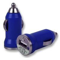 VCOMP® Adaptateur Allume cigare USB Entrée : 12 - 24V. Sortie : 5V, 1A. Couleur BLEU