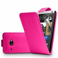 HTC Desire 601 Zara/ Dual Sim: Accessoire Etui Housse Coque Pochette simili cuir à rabat vertical - ROSE