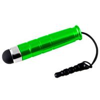 VCOMP® Mini Stylet Universel avec Capuchon Prise Jack 3,5mm  pour téléphones, tablettes, couleur VERT