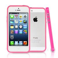 Apple iPhone 5/ 5S/ SE: Bumper TPU silicone pour - ROSE