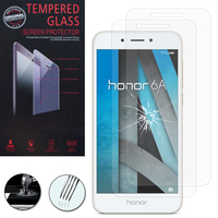 """Huawei Honor 6A 5.0"""": Lot / Pack de 2 Films de protection d'écran Verre Trempé"""