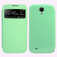 Samsung Galaxy S4 i9500/ i9505/ Value Edition I9515: Accessoire Coque Etui Housse Pochette Plastique View Case - VERT