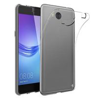 """Huawei Y6 (2017) 5.0"""": Accessoire Housse Etui Coque gel UltraSlim et Ajustement parfait - TRANSPARENT"""