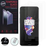 """OnePlus 5 A5000 5.5"""": Lot / Pack de 2 Films de protection d'écran Verre Trempé"""