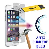 """Apple iPhone 8 4.7"""": 1 Film Écran Verre Trempé Anti Lumière Bleu"""