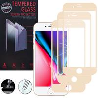 """Apple iPhone 8 Plus 5.5"""": Lot / Pack de 3 Films de protection d'écran Verre Trempé"""