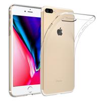 "Apple iPhone 8 Plus 5.5"": Accessoire Housse Etui Coque gel UltraSlim et Ajustement parfait - TRANSPARENT"