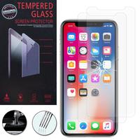 """Apple Iphone X 5.8""""/ iPhone 10/ iPhone Ten: Lot / Pack de 2 Films de protection d'écran Verre Trempé"""